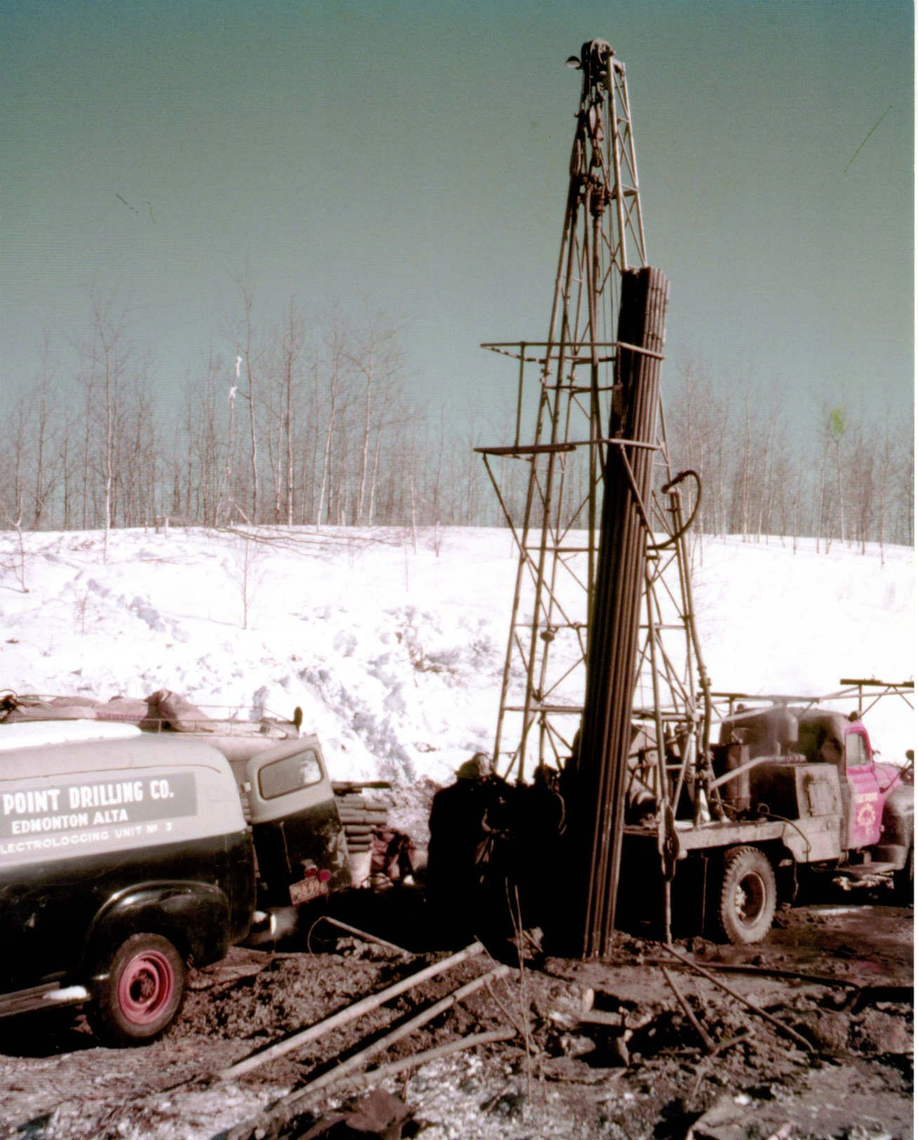 drilling in land